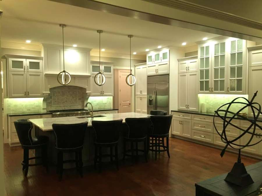 Traditional Brick Home 2 Kitchen Home Design Group