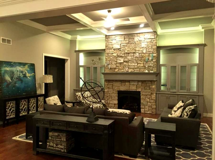 traditional brick home 2 living room home design group