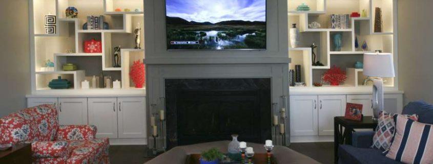 living room built ins home design group traditional brick home 2 living room home design group