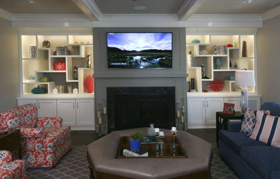 Living Room Built Ins Home Design Group