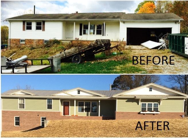 Before After Remodeled Home Home Design Group